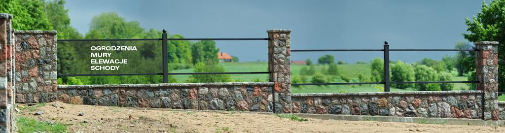 Ogrodzenia Z Kamienia Mury Elewacje Chodniki Schody